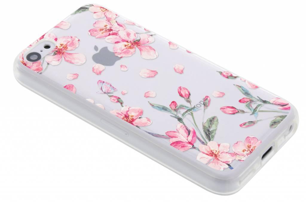 Bloesem Watercolor TPU hoesje voor de iPhone 5c