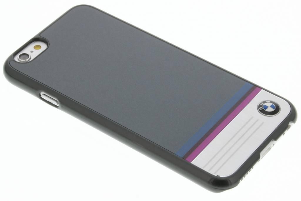 BMW Hard Case Aluminium Plate voor de iPhone 6 / 6s - Grey