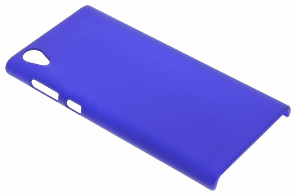 Blauw effen hardcase hoesje voor de Sony Xperia L1
