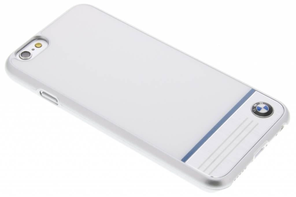 BMW Hard Case Aluminium Plate voor de iPhone 6 / 6s - Wit