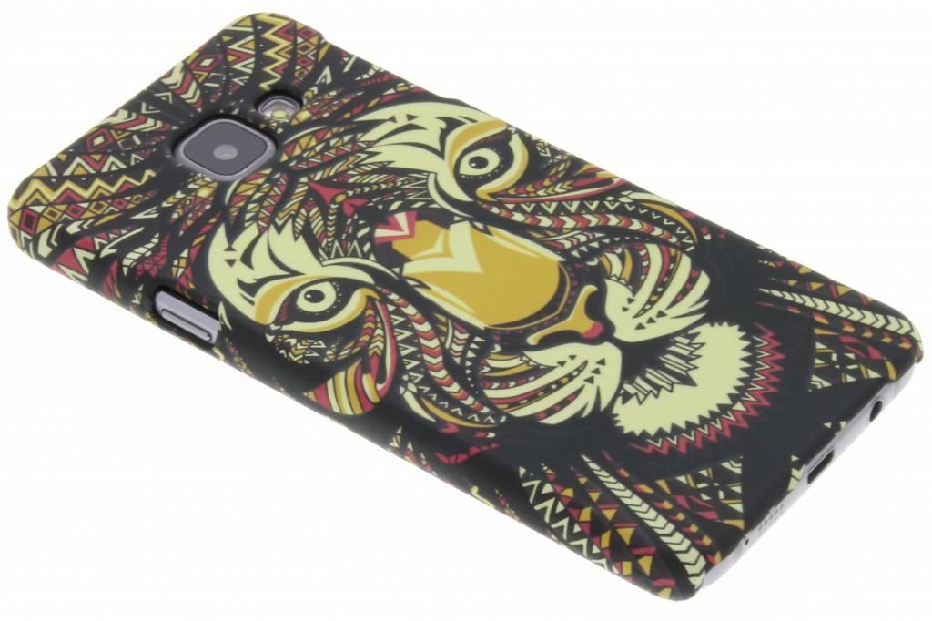 Tijger aztec animal design hardcase hoesje voor de Samsung Galaxy A3 (2016)
