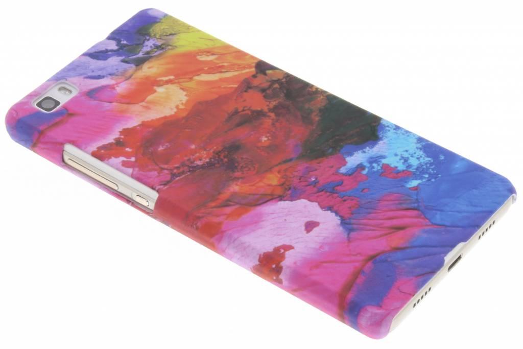 Colorful design hardcase hoesje voor de Huawei P8 Lite