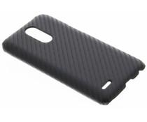 Carbon look hardcase hoesje LG K10 (2017)