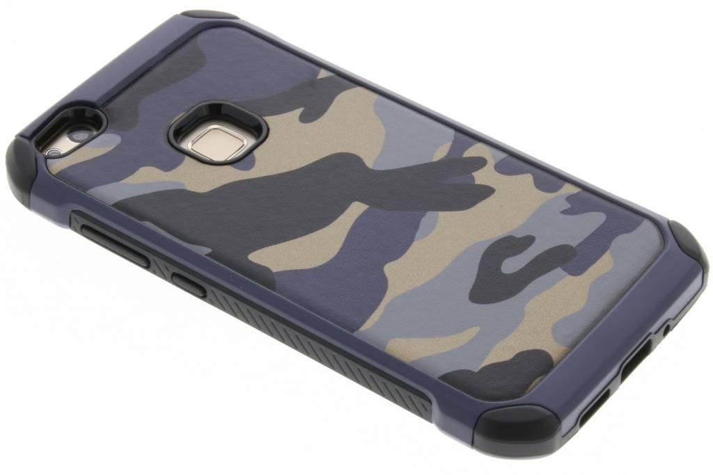 Blauw army defender hardcase hoesje voor de Huawei P10 Lite