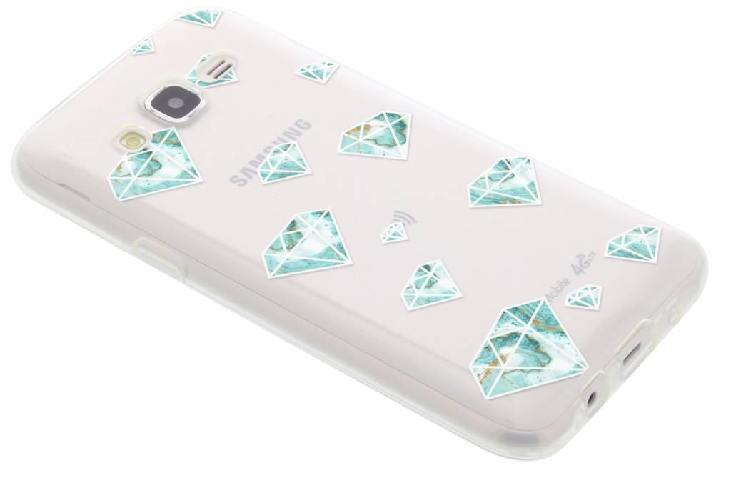 Diamonds design TPU hoesje voor de Samsung Galaxy J5