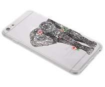 Dieren design TPU hoesje iPhone 6(s) Plus