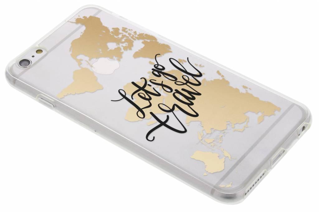 Travel design TPU hoesje voor de iPhone 6(s) Plus