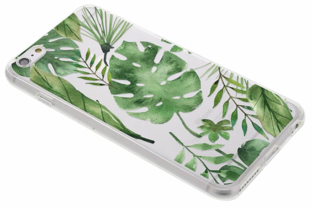 Monstera design TPU hoesje voor de iPhone 6(s) Plus