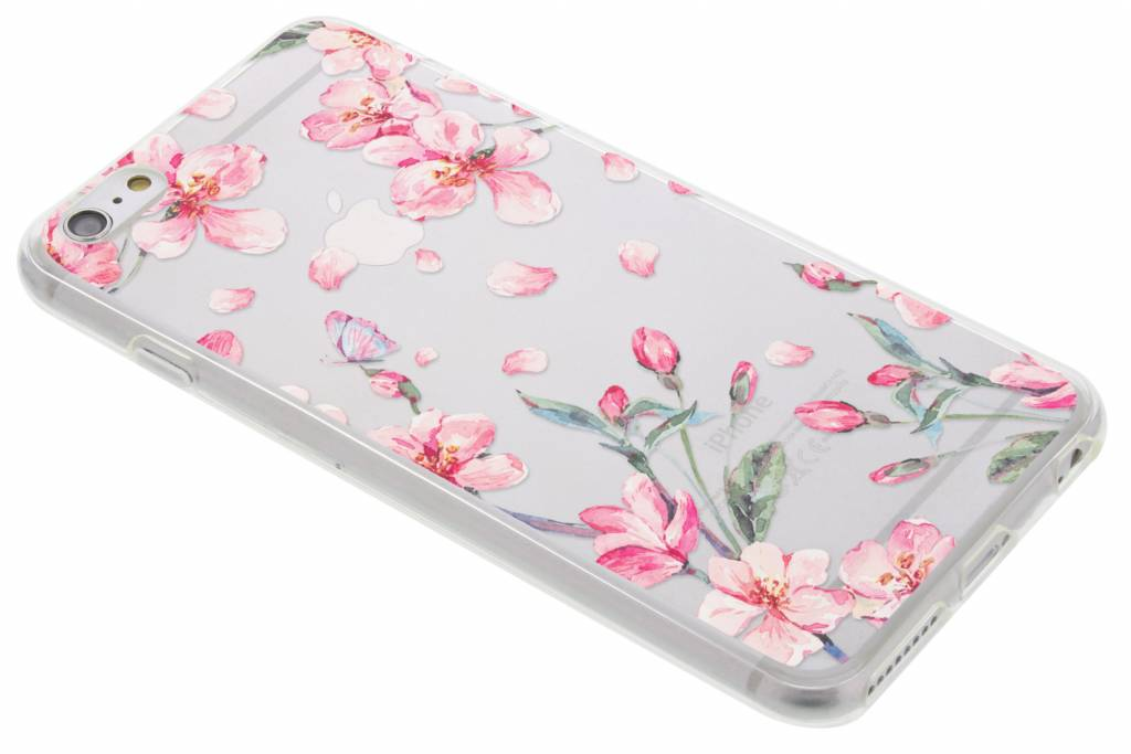 Bloesem Watercolor TPU hoesje voor de iPhone 6(s) Plus