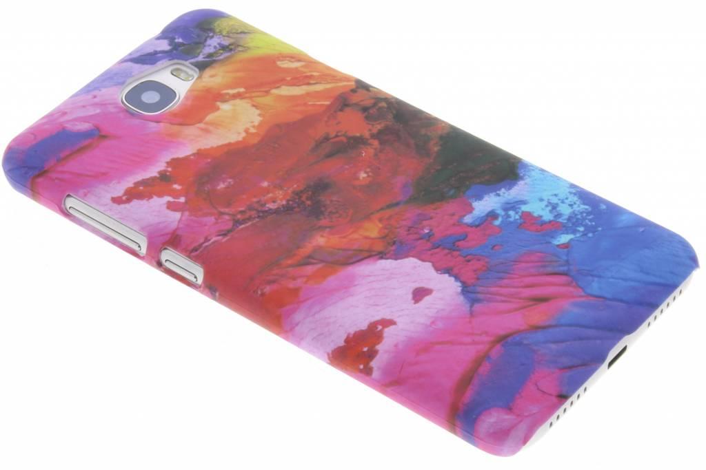 Colorful design hardcase hoesje voor de Huawei Y5 2 / Y6 2 Compact