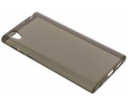 Grijs transparant gel case Sony Xperia L1