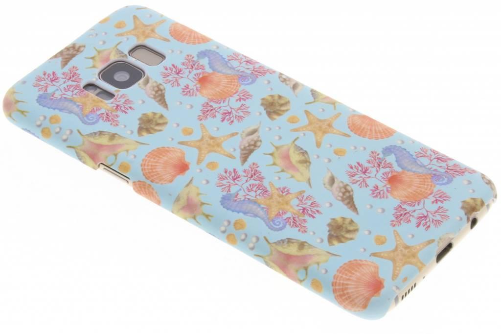 Seashell design hardcase hoesje voor de Samsung Galaxy S8