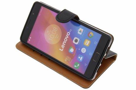 Porte-monnaie Noir Livret Pour Tpu Lenovo P2 uNzc6ZfTy