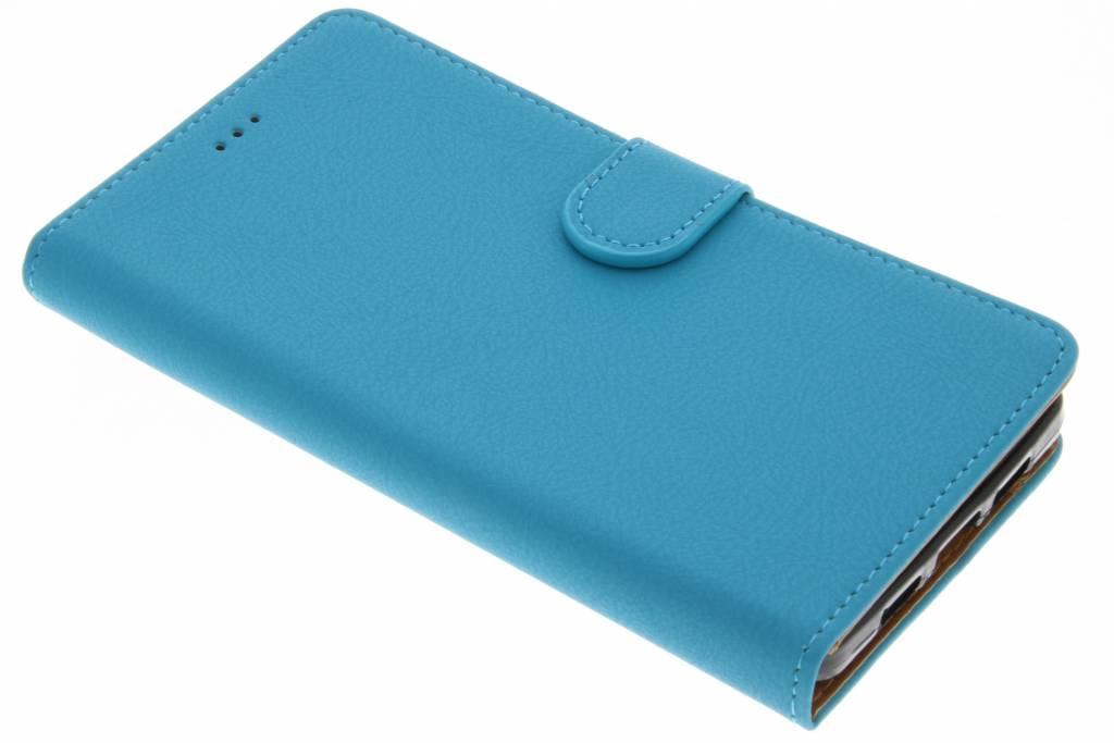 Blauwe Wallet TPU Booklet voor de Lenovo P2
