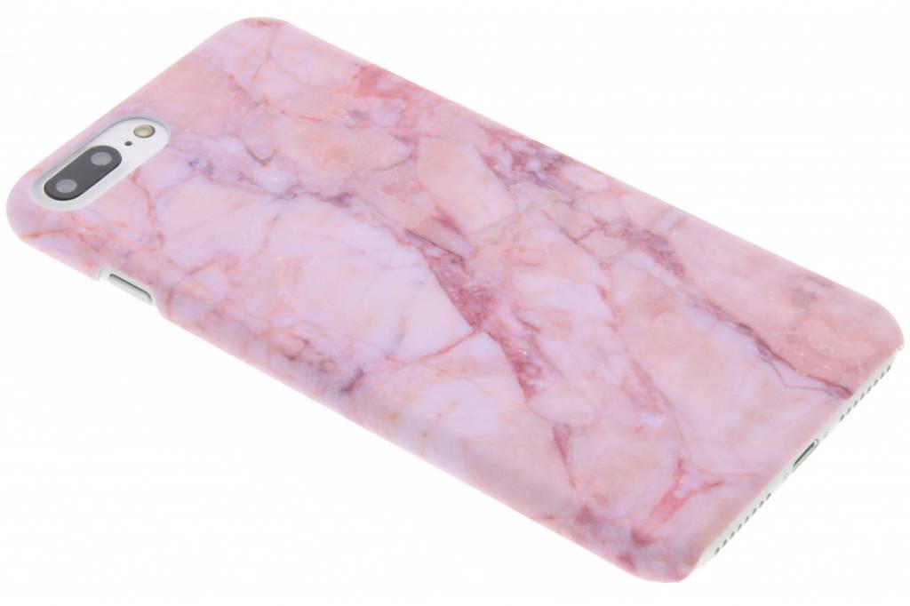 Roze marmer design hardcase hoesje voor de iPhone 8 Plus / 7 Plus