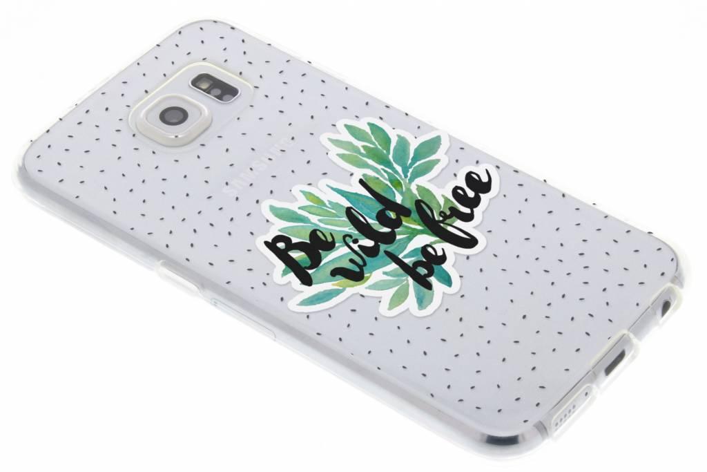 Be wild design TPU hoesje voor de Samsung Galaxy S6
