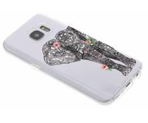 Dieren design TPU hoesje Samsung Galaxy S7