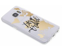 Quote design TPU hoesje Samsung Galaxy S7
