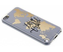 Quote design TPU hoesje iPod Touch 5g / 6g