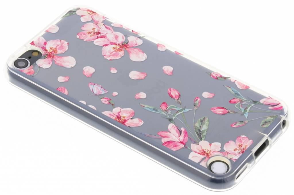 Bloesem Watercolor TPU hoesje voor de iPod Touch 5g / 6g