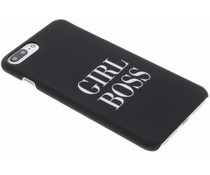 Quote design hardcase hoesje iPhone 8 Plus / 7 Plus