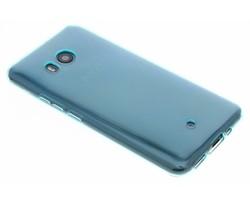 Turquoise transparant gel case HTC U11
