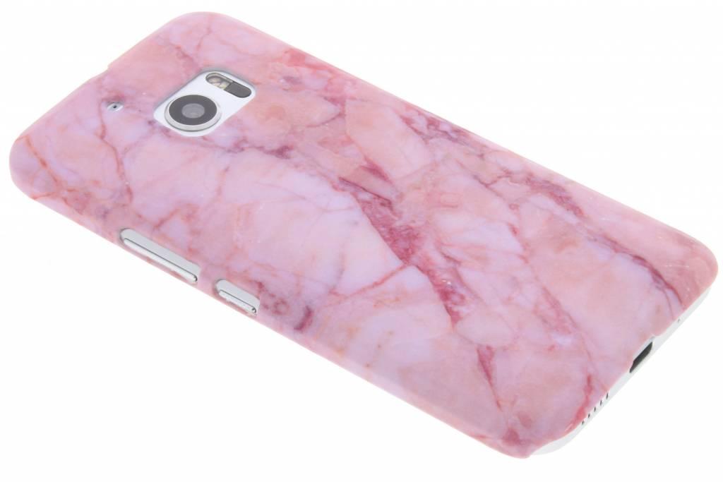 Roze marmer design hardcase hoesje voor de HTC 10