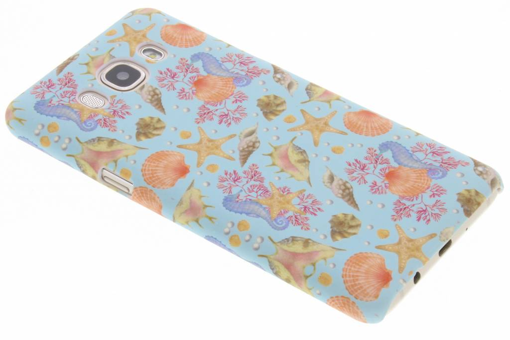 Seashell design hardcase hoesje voor de Samsung Galaxy J5 (2016)