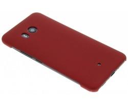 Rood effen hardcase hoesje HTC U11