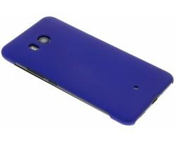 Blauw effen hardcase hoesje HTC U11
