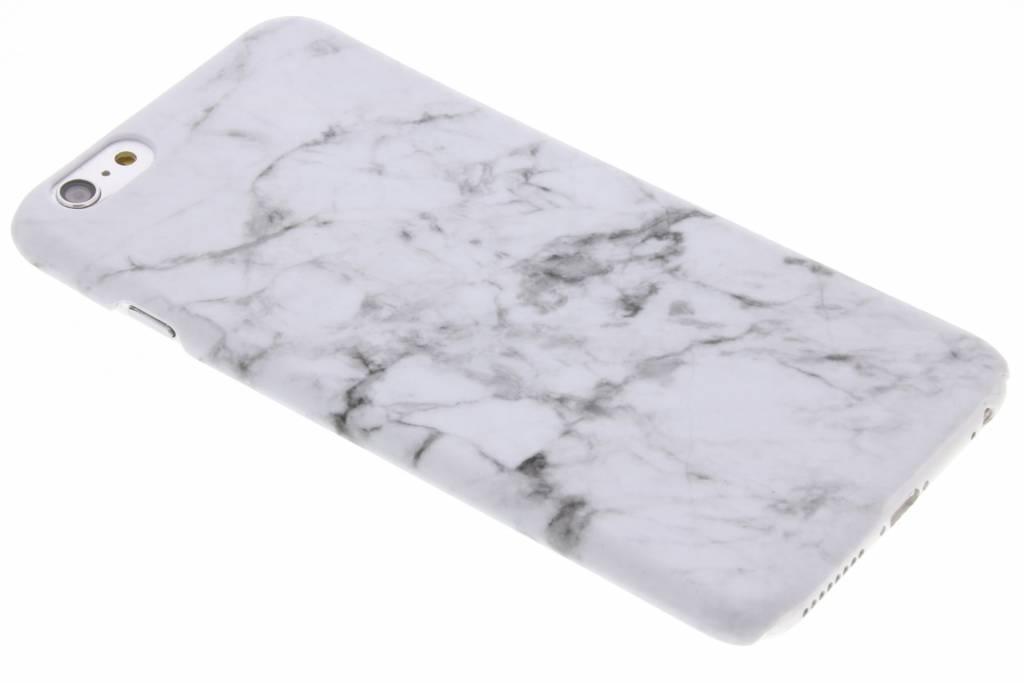 Wit marmer look hardcase hoesje voor de iPhone 6(s) Plus