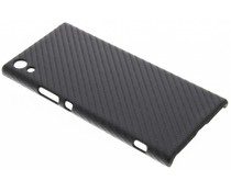 Carbon look hardcase hoesje Sony Xperia XA1 Ultra