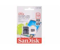 SanDisk Ultra 128 GB microSDHC + SD adapter