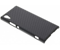 Carbon look hardcase hoesje Sony Xperia XA1