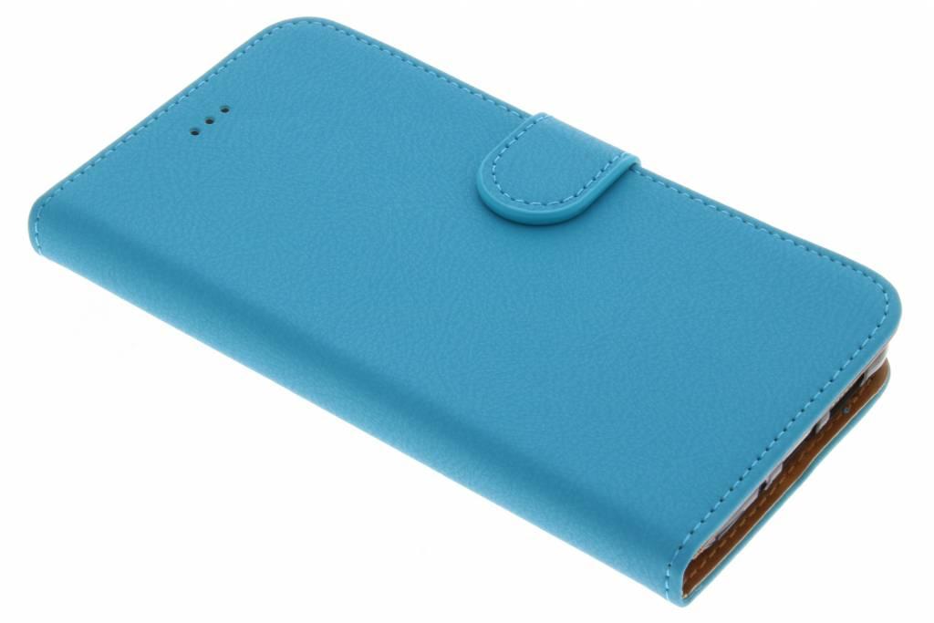 Blauwe Wallet TPU Booklet voor de Huawei P10 Lite