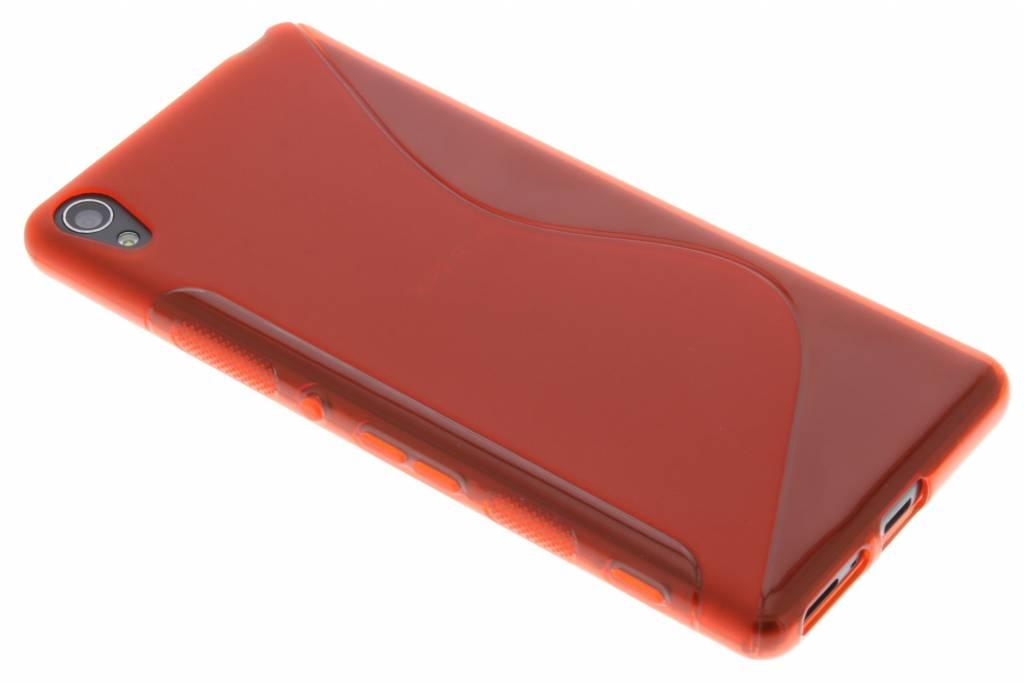 Rood S-line TPU hoesje voor de Sony Xperia XA