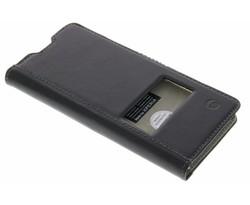 Krusell Sigtuna SmartCase Sony Xperia XA - Zwart