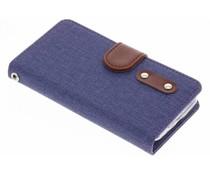 Linnen TPU booktype hoes Samsung Galaxy S5 Mini