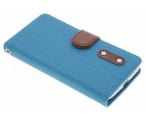 Linnen TPU booktype hoes Motorola Moto G4 Play