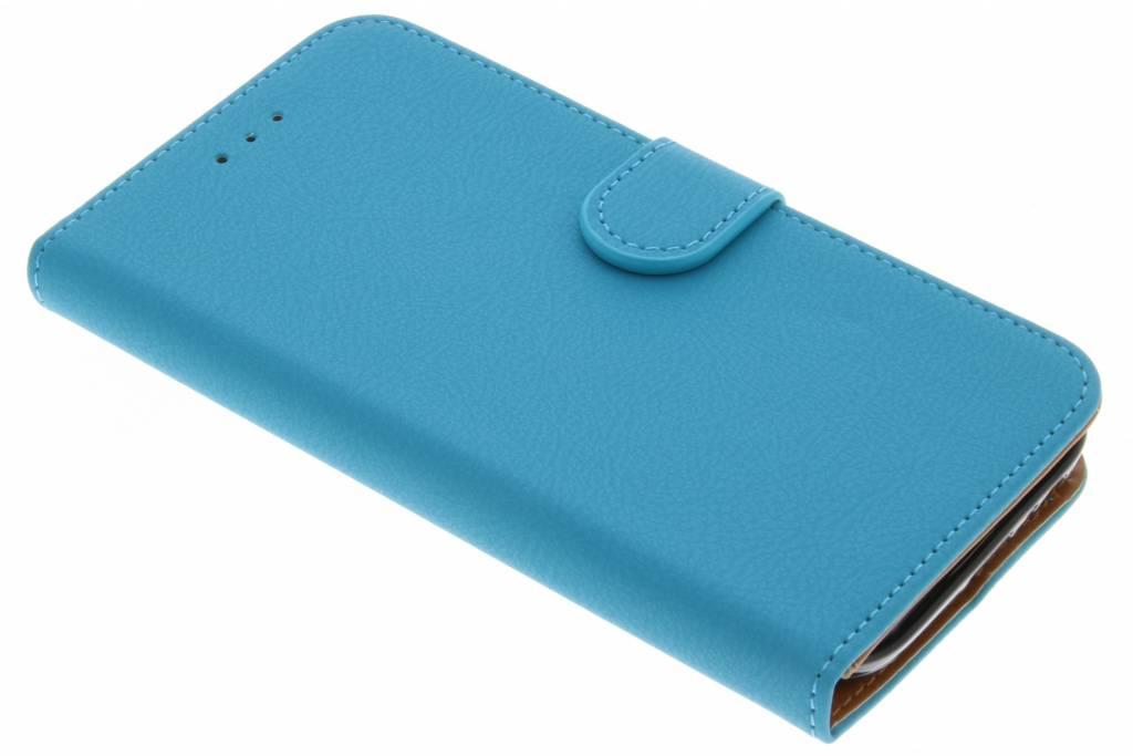 Blauwe Wallet TPU Booklet voor de Samsung Galaxy A5 (2017)