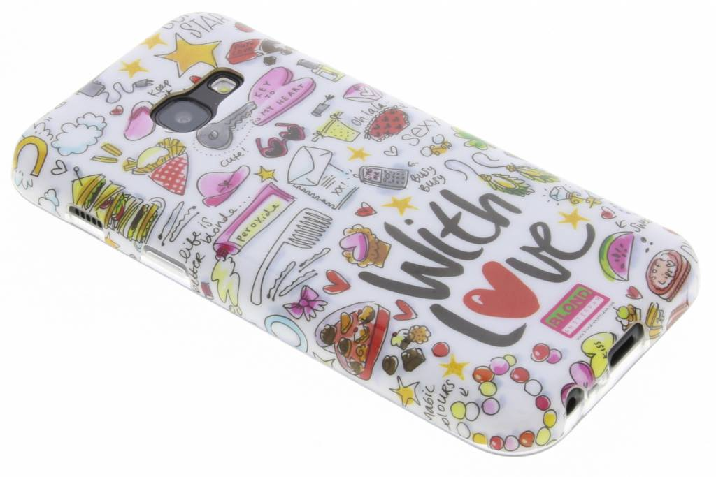 Blond Amsterdam With love softcase voor de Samsung Galaxy A3 (2017)