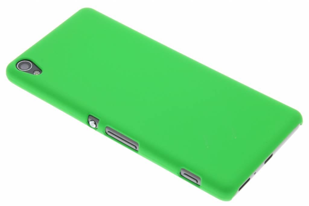 Groen effen hardcase hoesje voor de Sony Xperia XA