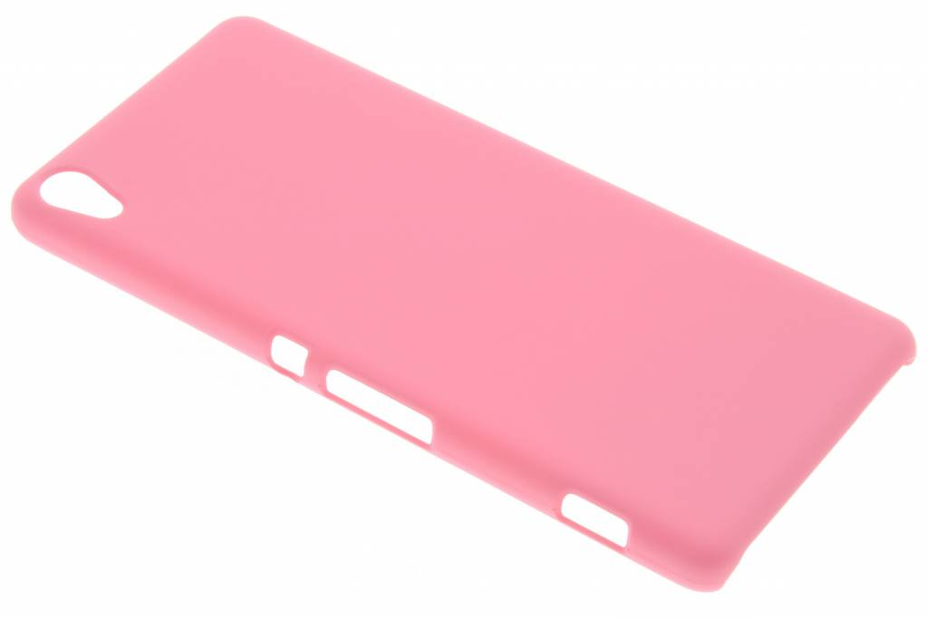 Roze effen hardcase hoesje voor de Sony Xperia XA