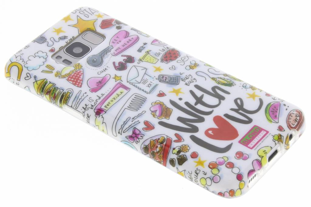 Blond Amsterdam With love softcase voor de Samsung Galaxy S8
