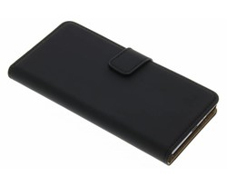 Selencia Luxe Book Case Sony Xperia XA - Zwart