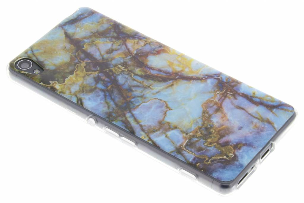 Marmer design TPU siliconen hoesje voor de Sony Xperia XA