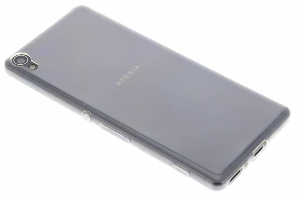 Ultra thin transparant TPU hoesje voor de Sony Xperia XA