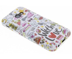 Blond Amsterdam With love softcase Samsung Galaxy A5 (2017)