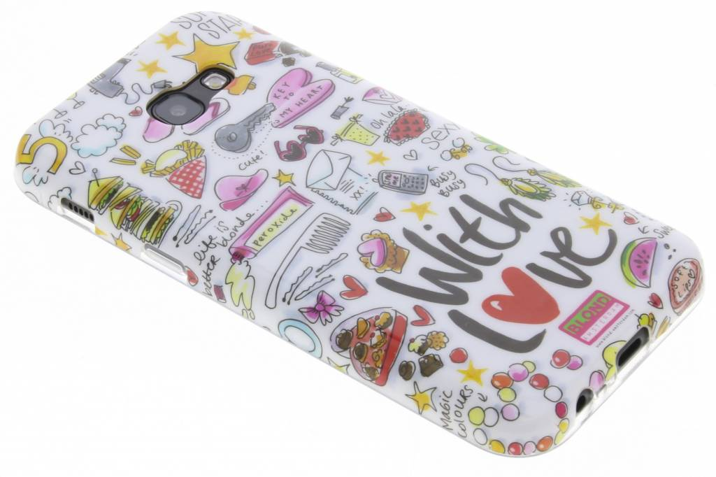 Blond Amsterdam With love softcase voor de Samsung Galaxy A5 (2017)
