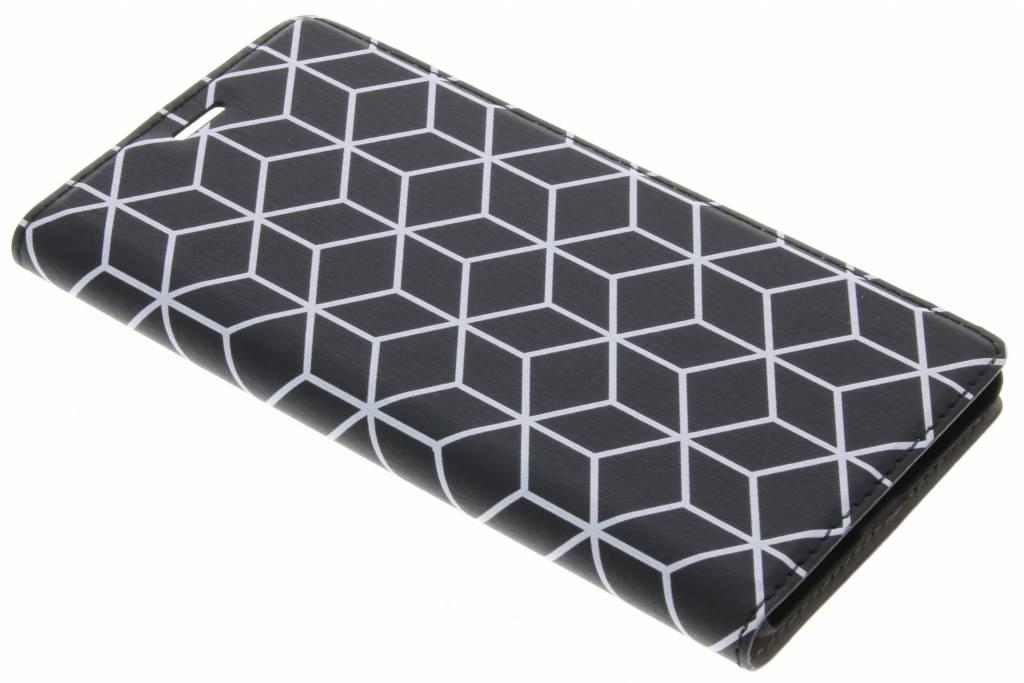Cubes Black Design Booklet voor de Nokia 5